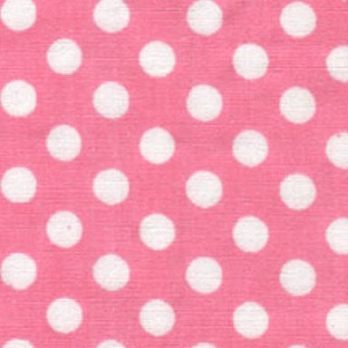 Girl Nursery Fabric Wall Letters Pink Polka Dot Fun