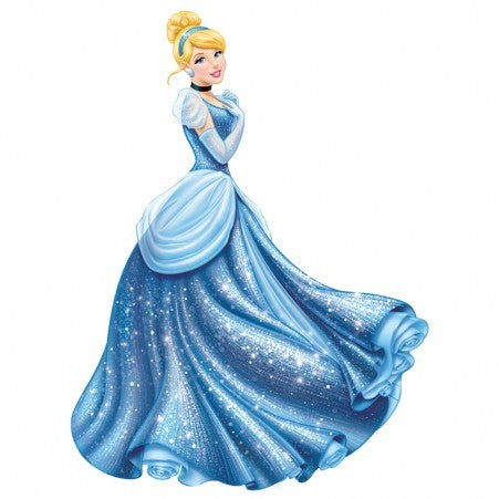 Cinderella Princess Giant Wall Decal