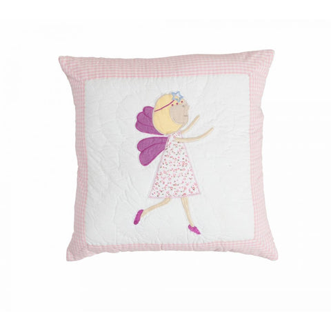 Fairy Quilted Pillow