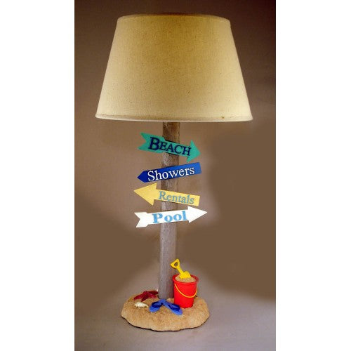 Beach Signs Lamp