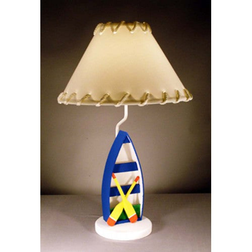 Row Boat Lamp