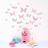 Butterflies Fabric Wall Decals