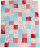Matilda Patchwork Quilt and Quilted Sham Set - Twin