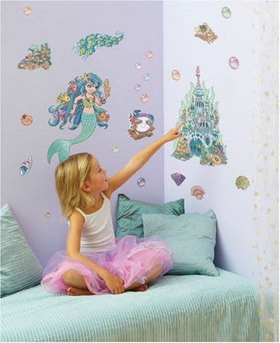 Lana the Mermaid Wall Decals