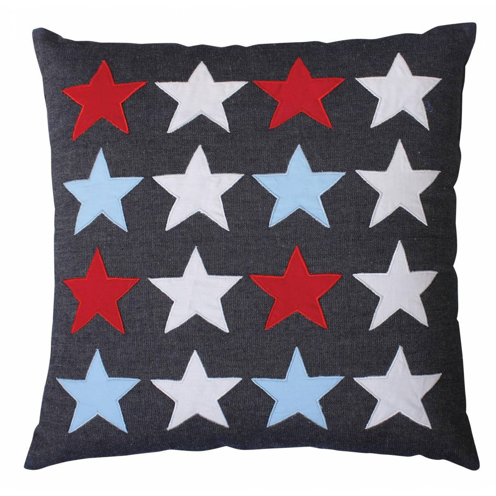 Blue Stars Pillow