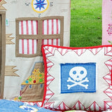 Pirate Shack Pillow