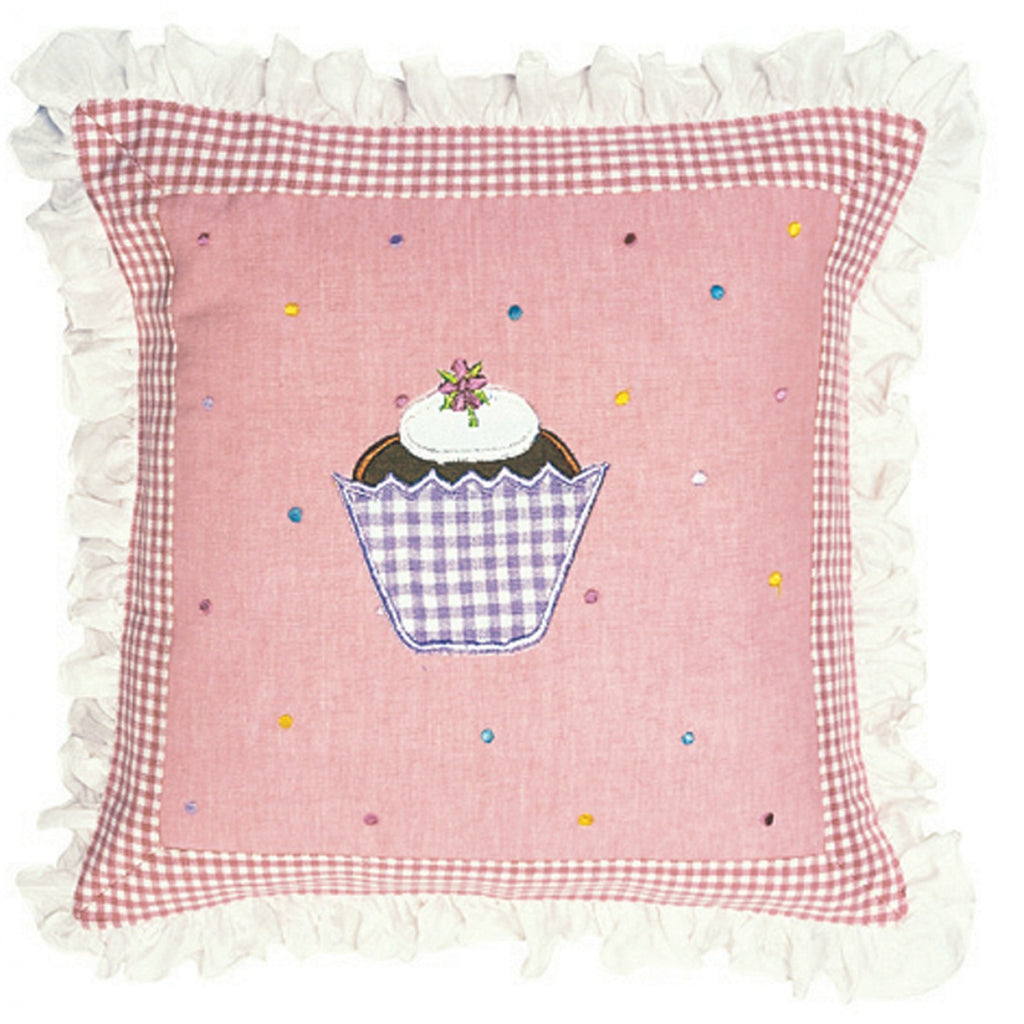 Gingerbread Cottage Pillow
