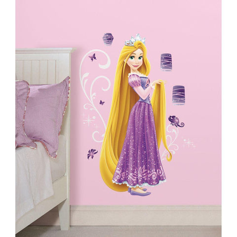 Rapunzel Giant Wall Decals with Glitter