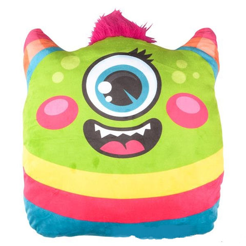 One Eyed Monster Plush Pillow