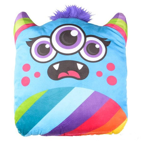 Three Eyed Monster Plush Pillow