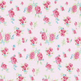 Rosie Pink Floral Fabric Wall Letters