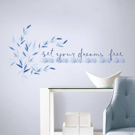 """Set Your Dreams Free""  Quote Wall Decals"