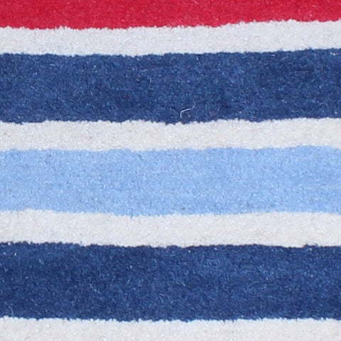 Edwards Truck Sales >> Boy's Blue & Red Stripes Rug – Fun Rooms For Kids