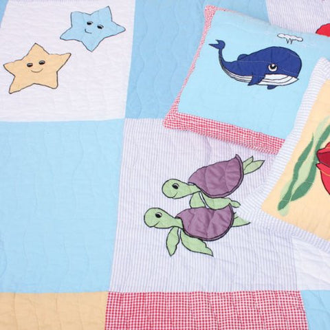 Under the Sea Quilt / Throw
