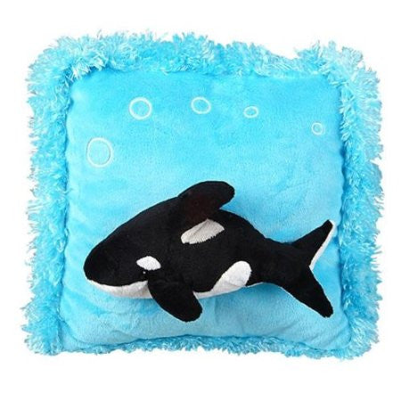 Raised Whale Pillow