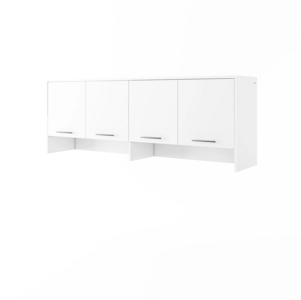 over bed unit, cabinet for horizontal wall bed, multifunctional bed, top cabinet, marmell