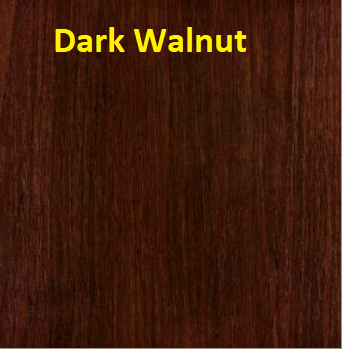 dark walnut colour