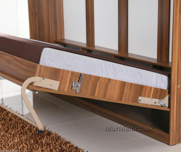 horizontal wall bed Murphy bed folding bed hidden bed space saving bed fold-down bed