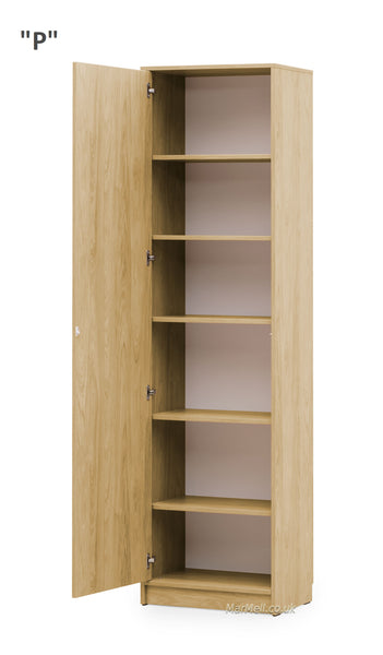 oak side cabinet wall unit storage with shelves for wall beds marmell furniture