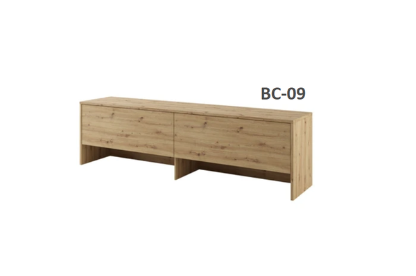 over bed unit top cabinet oak open storage unit for horizontal wall beds marmell