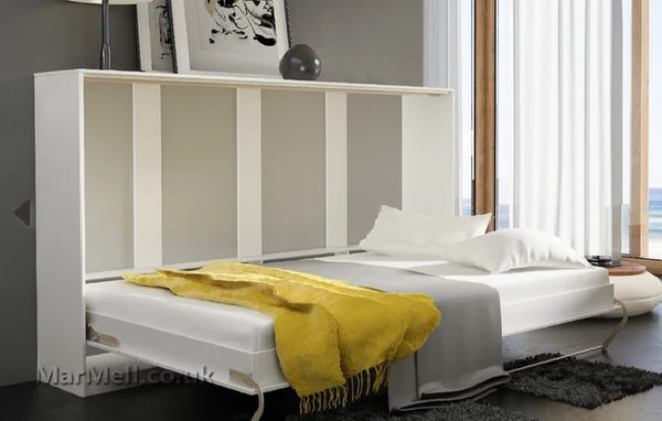single horizontal_wall_bed_Murphy_bed_folding_bed_hidden_bed_pull down convertible space_saving_bed_fold-down_bed_marmell
