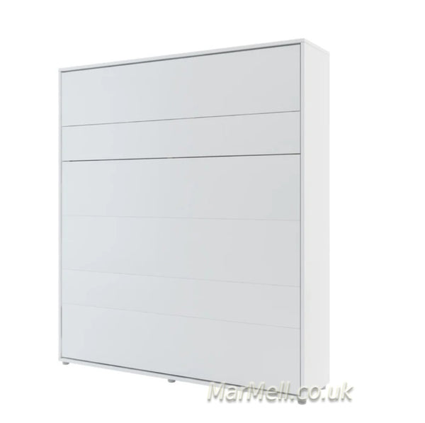 super king size wall bed 180cm Murphy bed space saving bed white