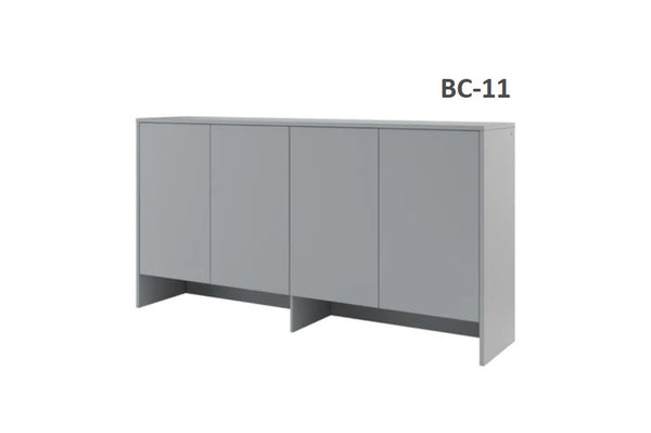 top cabinet storage over bed unit for single wall bed Murphy bed top cabinet marmell