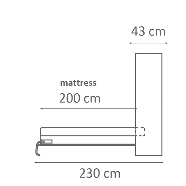 wall bed vertical