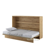 horizontal wall bed,  Murphy Bed, Space Saving Bed, hidden bed, folding bed