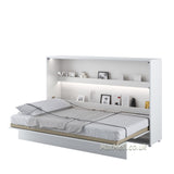 horizontal wall bed,  fold - down bed, Murphy Bed, Space Saving Bed, hidden bed, folding bed, multifunctional bed