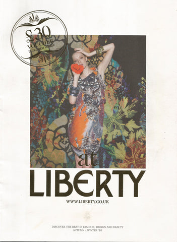 Liberty Of London Magazine- Geannine Pollazzon