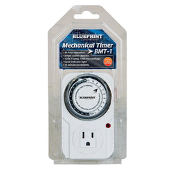 Blueprint Mechanical Timer 120V, BMT-1 - 120v Timer - Rogue Hydro