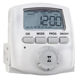 Digital Appliance Timer, 15A/125V - 120v Timer - Rogue Hydro