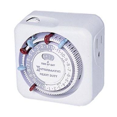Intermatic Timer Mechanical, 15A/120V - 120v Timer - Rogue Hydro