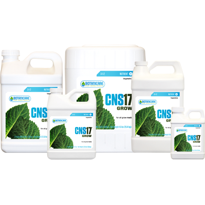 Botanicare CNS17 Grow, 5 Gallons - Grow Nutrients - Rogue Hydro - 2