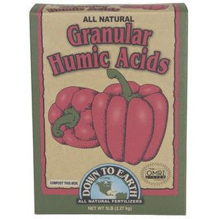 Down To Earth Granular Humic Acids, 5 Pounds