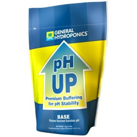 General Hydroponics Dry pH Up, 2.2 Pounds