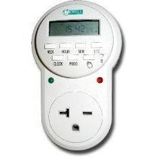 240V 20A Single Outlet Digital Timer - 240v Timer - Rogue Hydro