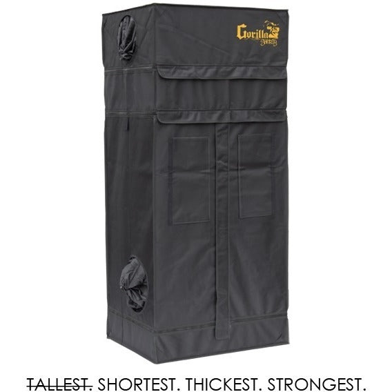 Gorilla Grow Tent Shorty 2x2.5x5 w/ Ext 5'8""