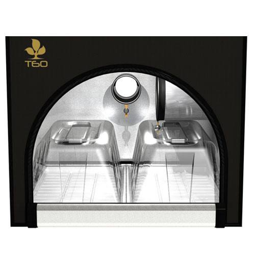 Secret Jardin Twin 60 v2.6 T60 2x2x6.25 2 Station Grow Tent - 2x2 Grow Tent - Rogue Hydro - 6