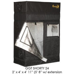 "Gorilla Grow Tent Shorty 2x4x5 w/ Ext 5'8"" - 2x4 Grow Tent - Rogue Hydro - 1"
