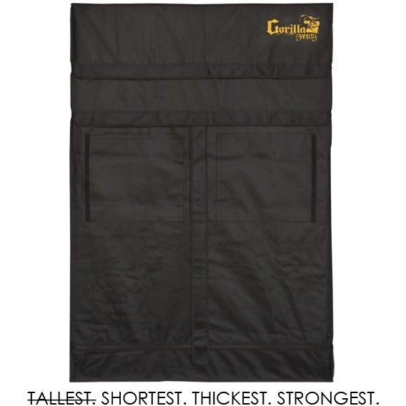 Gorilla Grow Tent Shorty 2x4x5 w/ Ext 5'8""