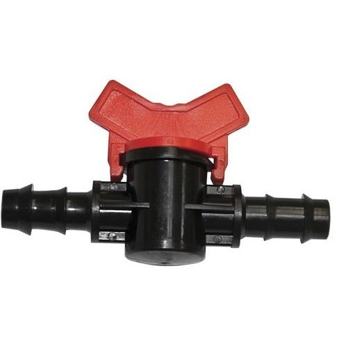 "Grow1 3/4"" Barbed Water Shut Off Valve - 3/4"" Barbed Fittings - Rogue Hydro"