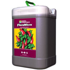General Hydroponics FloraMicro, 6 Gallons