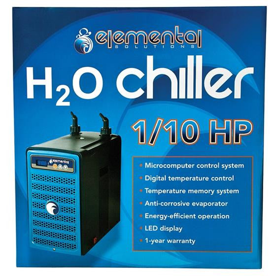 Elemental H2O Chiller, 1/10 HP - Water Chiller - Rogue Hydro - 2