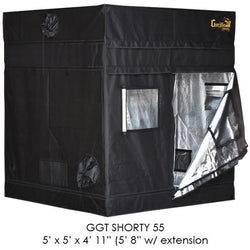 Gorilla Grow Tent Shorty 5x5x5 w/ Ext 5'8""
