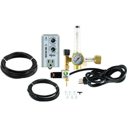 Titan Controls CO2 Regulator Deluxe Kit with Timer - Co2 Kit - Rogue Hydro