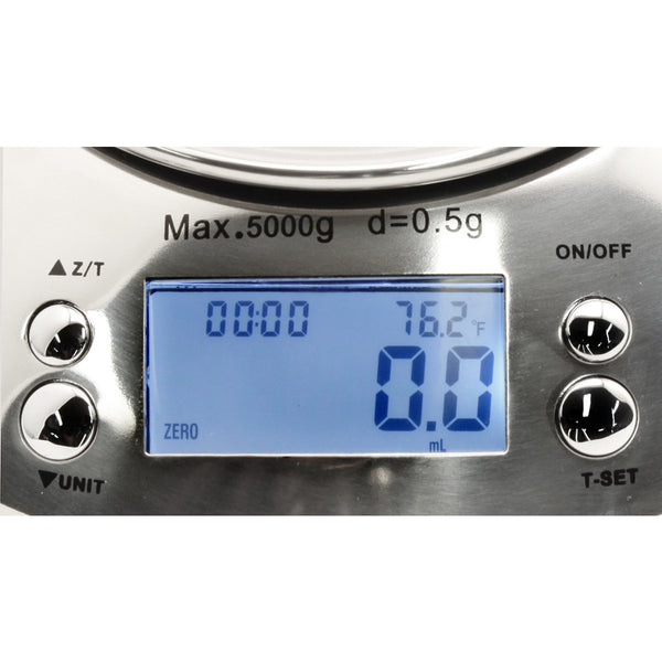 Measure Master 5000 Gram XL Digital Scale with 4 Liter Bowl - Scale - Rogue Hydro - 4