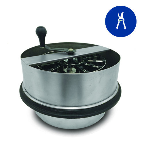 "Twisted Trimmer Open Top 16"" Hand Crank Bowl Trimmer - Bowl Trimmers - Rogue Hydro - 1"