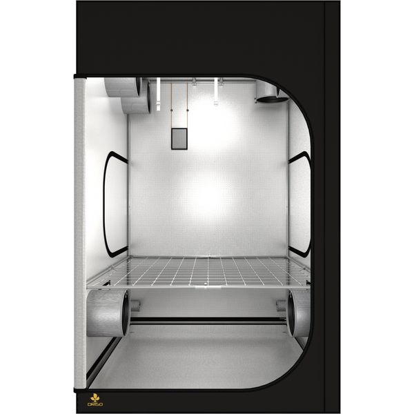 Secret Jardin Dark Room 150 v3.0 DR150 5x5x7.7 Grow Tent - 5x5 Grow Tent - Rogue Hydro - 4